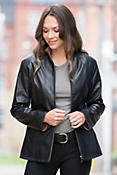 Rosemary Lambskin Leather Jacket