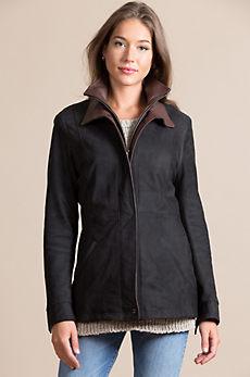 Starr Lambskin Leather Jacket