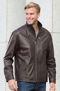 Cody Lambskin Leather Jacket