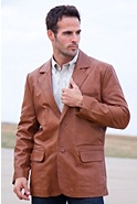 Men's Harrison Lambskin Blazer (Tall)