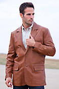 Men's Harrison Lambskin Blazer (Big)