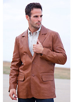 Men's Harrison Lambskin Blazer (Big/Tall)