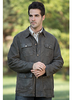 Men's Cooper Leather River Jacket