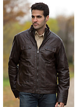 Men's Gordon Lambskin Leather Jacket