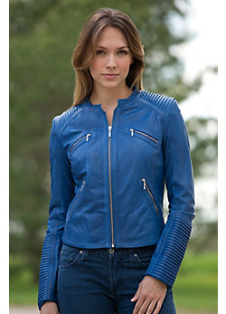 Women's Harper Lambskin Leather Jacket