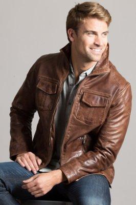 Heath Lambskin Leather Jacket