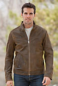 Men's Jonah Antique Lambskin Leather Jacket