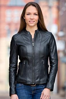 Luna Lambskin Leather Jacket