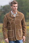 Men's Woodstock  Lamb Suede Jacket
