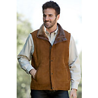 Men's Go Forth Maple Shearling Sheepskin Vest, Maple, Size 44 Western & Country