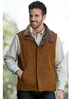 Men's Go Forth Maple Shearling Sheepskin Vest