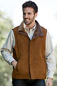 Go Forth Maple Shearling Sheepskin Vest