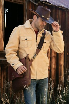 Quigley Cowhide Leather Jacket