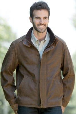Upland Lambskin Leather Jacket