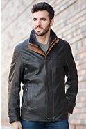 Men's Vernon Italian Lambskin Leather Jacket