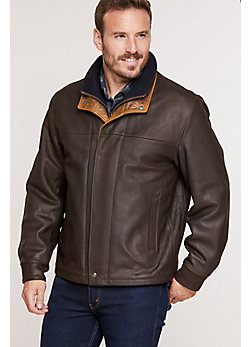 Romano Leather Jacket  (Tall)