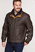 Men's Romano Leather Jacket  (Tall)