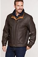 Men's Romano Leather Jacket  (Tall)