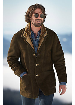 Overland Highlands Forest Shearling Sheepskin Coat