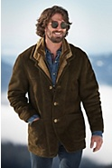 Men's Overland Highlands Shearling Sheepskin Coat