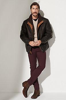 Romano Lambskin Leather Jacket - Tall (38L - 46L)