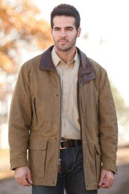 Bristol English Lambskin Leather Jacket