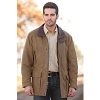 Men's Bristol English Lambskin Leather Jacket, Sycamore, Size 44 Western & Country