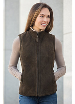 Women's Michelle Shearling Sheepskin Vest