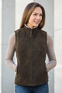 Michelle Shearling Sheepskin Vest
