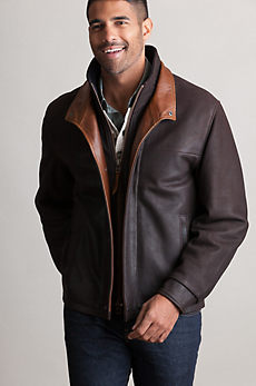 Romano Leather Jacket (Big 54)