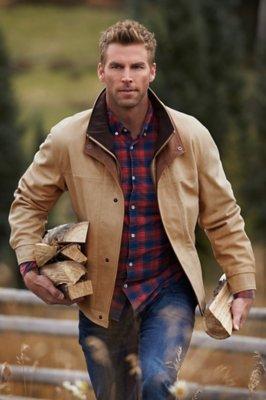 Romano Italian Calfskin Leather Jacket