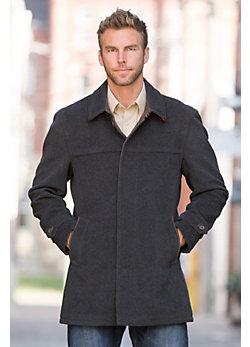 Benedict Wool-Blend Coat