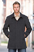 Benedict Cashmere Wool-Blend Coat