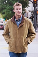 Men's Denver English Lambskin Leather Jacket