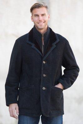 Overland Highlands Sueded Shearling Sheepskin Coat