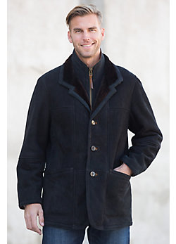 Overland Highlands Sueded Shearling Sheepskin Coat
