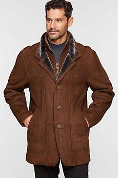 Overland Highlands II Tuscan Merino Shearling Sheepskin Coat