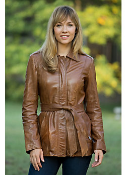 Women's Andrew Marc Divine Leather Jacket