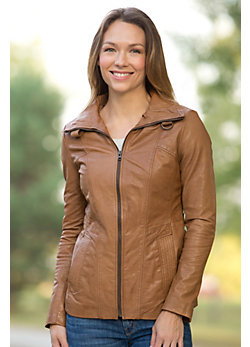 Women's Elle Leather Jacket