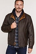 Men's Romano Leather Jacket