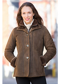 Women's Forest Vienna Shearling Sheepskin Coat