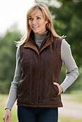 Women's Journey Lambskin Leather Vest