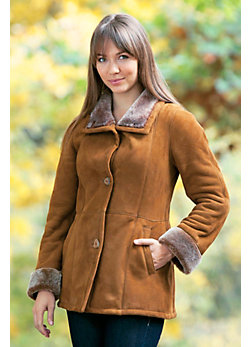 Women's Venezia Shearling Sheepskin Coat