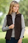 Women's Michelle Sueded Shearling Sheepskin Vest