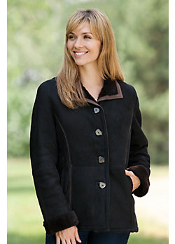 Women's Rebecca Shearling Sheepskin Jacket