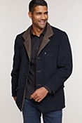 Men's Albatros Cashmere-Blend Wool Jacket