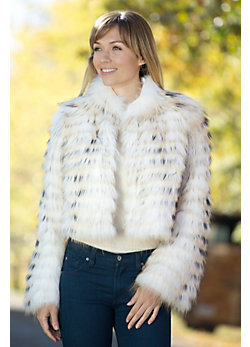 Women's Peggy Raccoon Fur Jacket
