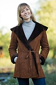 Women's Flora Shearling Sheepskin Coat