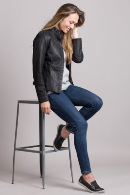 Melissa Lambskin Leather Jacket