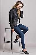 Women's Melissa Lambskin Leather Jacket